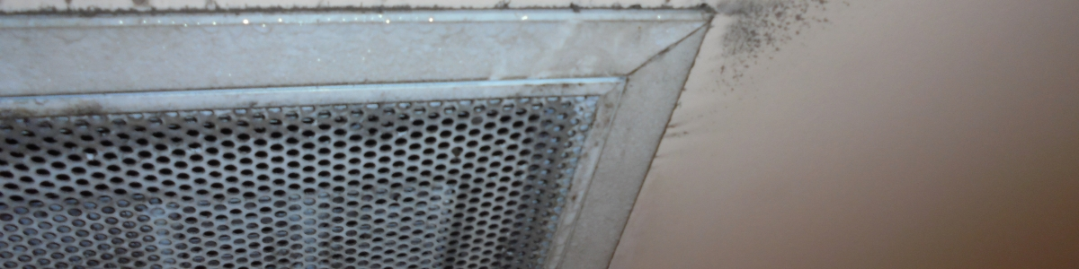 Exhaust Ventilation Cleaning - a dirty air conditioning exhaust vent